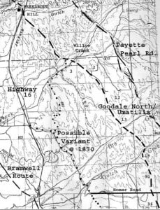 Goodale North, Eagle To Freezeout Hill and Possible Variant